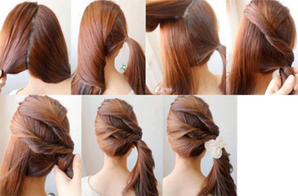 Faça Você Mesma 10 Penteados Simples E Fique Linda Sem Sair