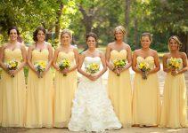 Vestidos de Madrinha Amarelo: 10 Inspirações Arrasadoras