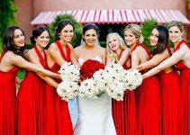 Vestidos de Madrinha Vermelho: 9 Modelos Perfeitos para Você Se Apaixonar