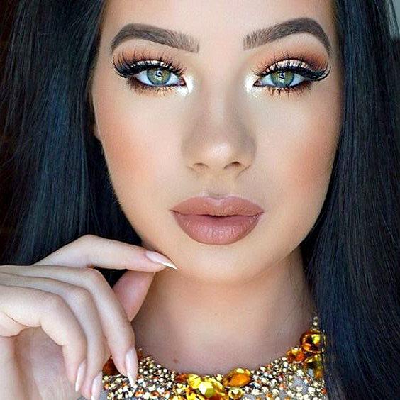Maquiagem para Debutantes com olho iluminado fica lindo nas fotos!