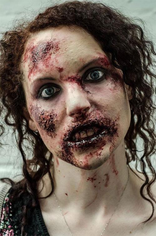 Maquiagem para Halloween com Zumbis é SENSACIONAL