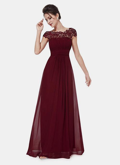Esse modelo de vestido fica lindo com todos os formatos de corpo